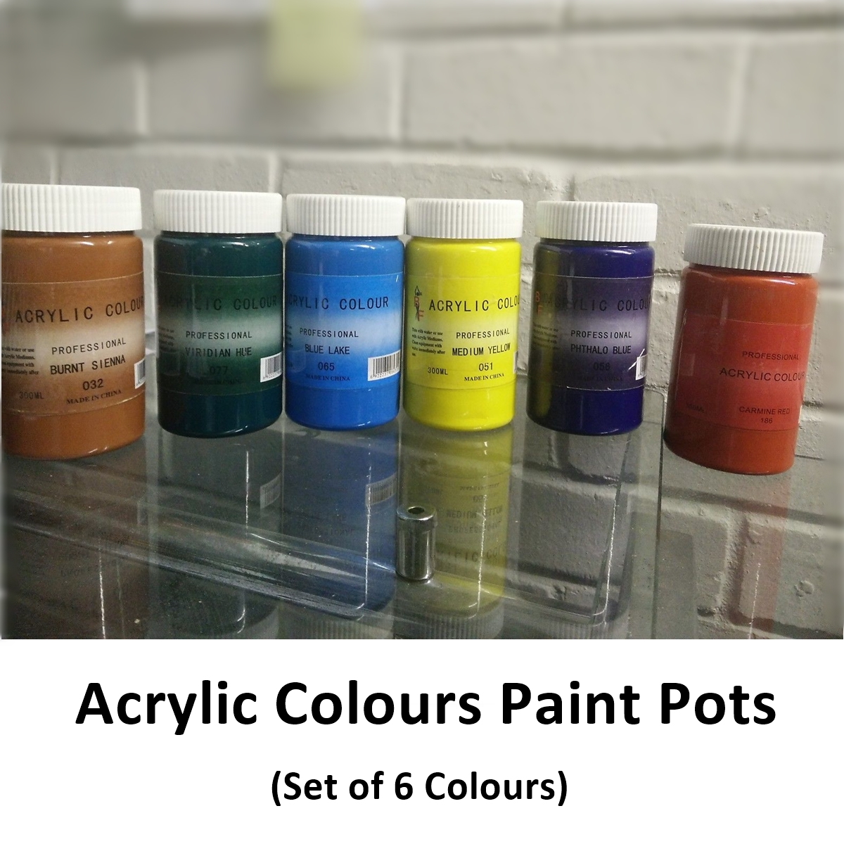 Buy bulk cheap artist acrylic paint sets pot colours at for Acrylic paint in bulk
