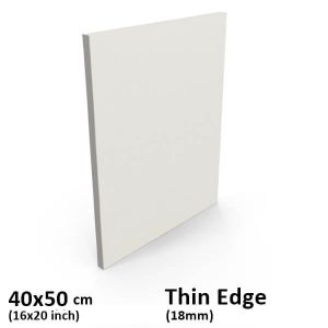 "standard thin edge canvas 40x50cm/16x20"" inch"