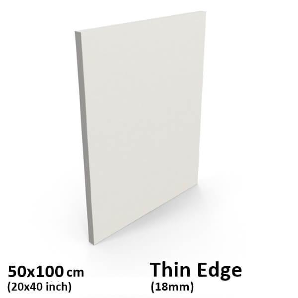 50x100 thin edge canvas
