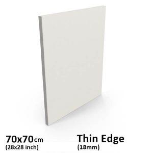 70x70cm thin edge canvas