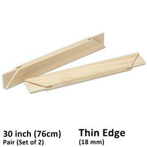 30 Inch (76 cm) Set/Pair of 2 Thin Edge Stretcher Bars