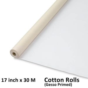 17 inch x 30 meter M Meters cotton canvas rolls wholesale canvas