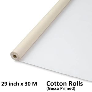 29 inch x 30 meter cotton canvas rolls