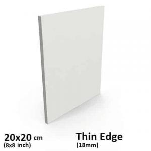 thin-edge-canvas 20x20cm