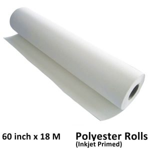 60 inch x 18 meter M Meters Polyester Inkjet canvas rolls
