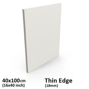 40x100 cm thin edge canvas