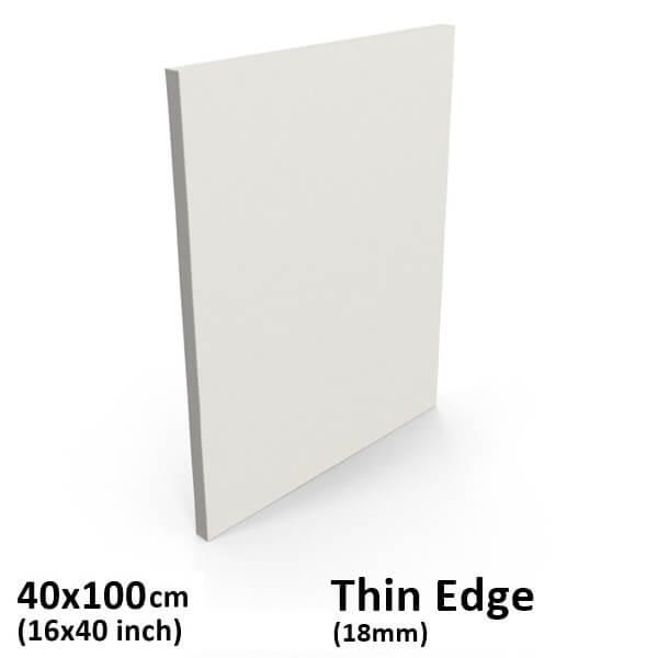 40x100cm 16x40 Inch Thin Edge Stretched Canvas